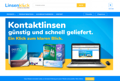 Linsenklick Homepage Screenshot