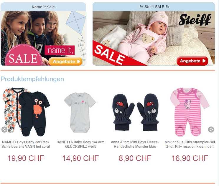 Baby-Markt.ch Mode